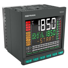 GEFRAN 1850 PID double loop temperature controller