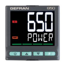 GEFRAN 650 PID regulator de temperatura