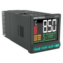 GEFRAN 850 double PID temperature controller